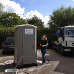 Portable Festival toilet hire 2016 somerset UK portable toilets hot showers
