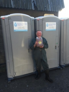 Wassail Cider Festival toilet hire 2016 somerset UK portable toilets hot showers