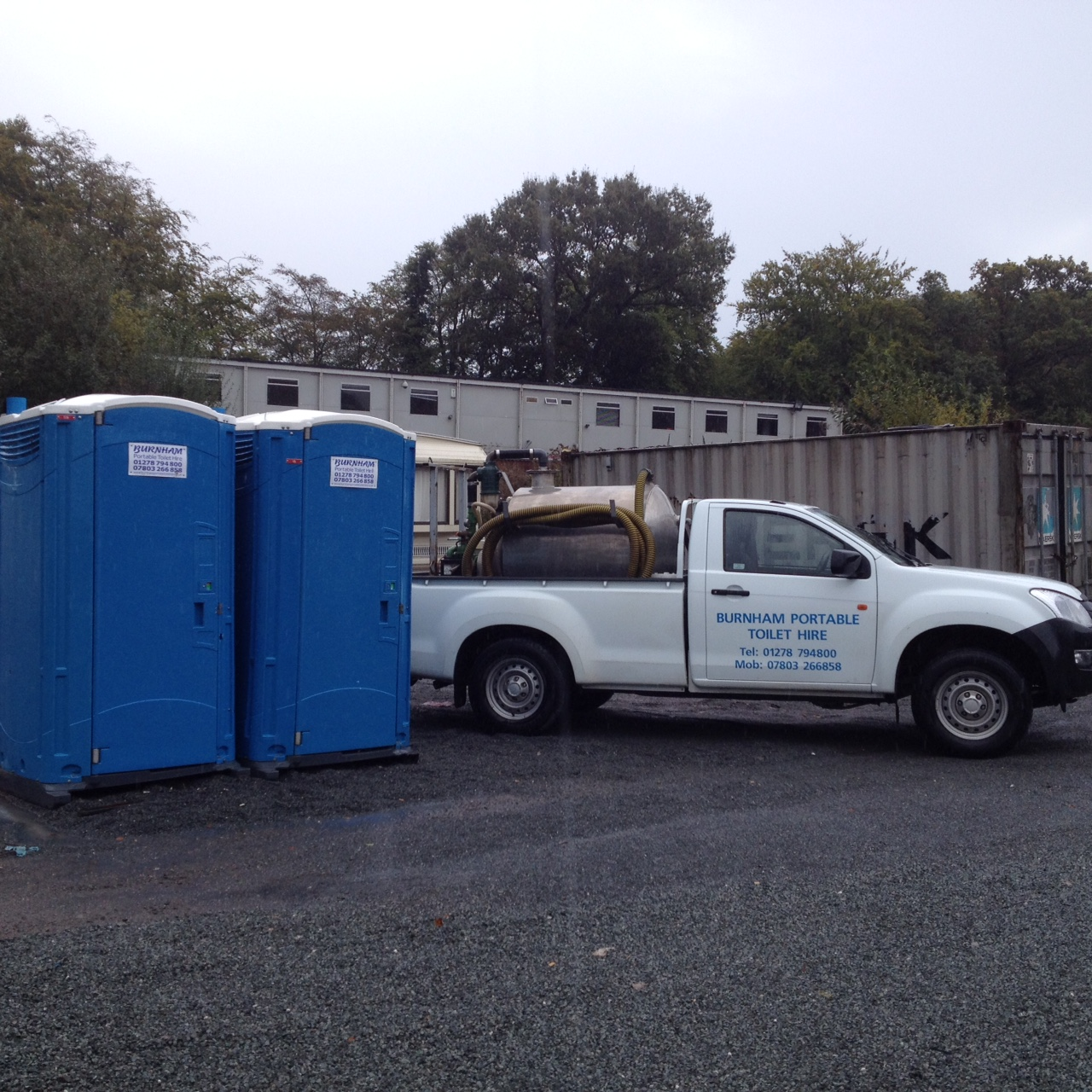 Event Party Portable Toilet Hire Somerset UK Glastonbury Wells Taunton South West - Van