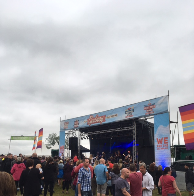 festival portable toilet hire Godney Gathering 2017