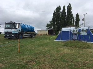 festival portable toilet hire Godney Gathering 2017