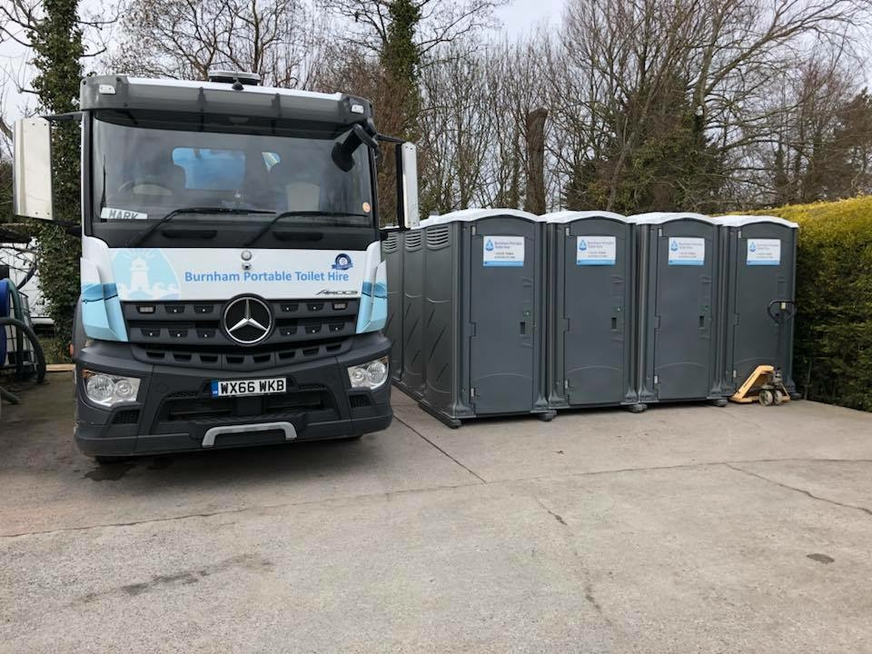Portable Toilet Hire Somerset Weston super Mare Taunton Yeovil BRFC - 5